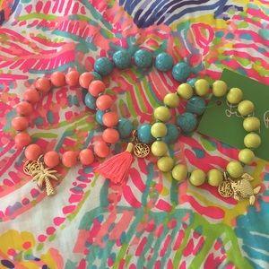 3Lilly Pulitzer Bracelets